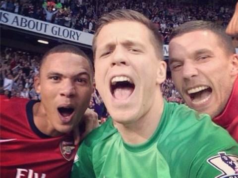 Wojciech Szczesny: Celebration selfie at Tottenham was 'brilliant'