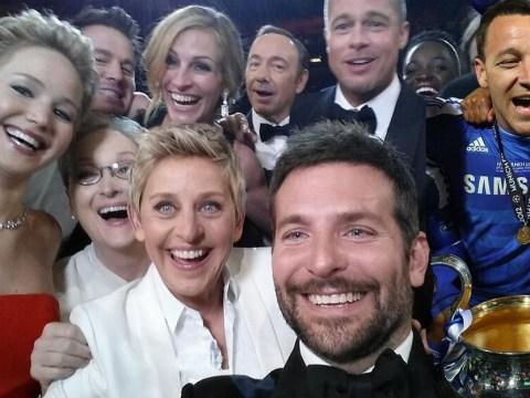 Ellen DeGeneres' Oscars 2014 selfie given John Terry treatment