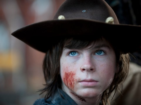 The Walking Dead fans are freaking out that Chandler Riggs is about to be killed off