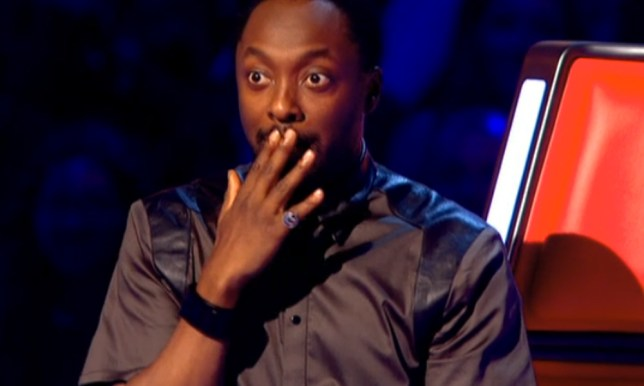 will i am swears on The Voice UK