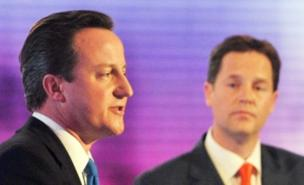 David Cameron and Nick Clegg will discuss a coalition