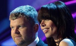 Christine Bleakley is 'unhappy' with Adrian Chiles (PA)
