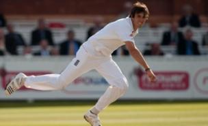 Steve Finn led the England attack well at Lord's (PA)