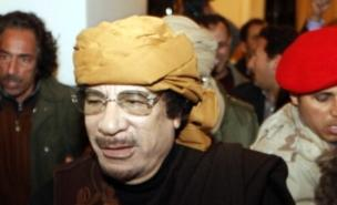 Colonel Gaddafi insists he was not hurt (AFP/Getty Images)