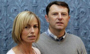 Kate and Gerry McCann are still searching for Madeleine (PA)
