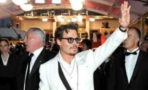 Johnny Depp may be the Queen's cousin (AFP/Getty Images)
