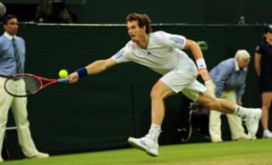 Andy Murray worked hard for his win. (PA)