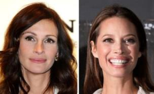 The ASA ruled the ads featuring Julia Roberts and Christy Turlington were misleading (PA)