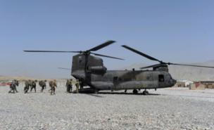 A Chinook like this one was brought down by the Taliban (Getty Images)
