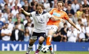 Modric is still happy to be at Spurs (PA)