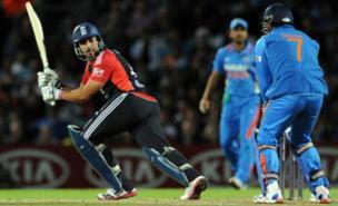 Ravi Bopara scored 40 from 41 balls (PA)