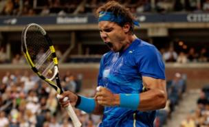 Rafael Nadal celebrates victory over Andy Murray (Getty Images)