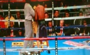 The 'mystery man' spotted ringside at Amir Khan's fight against Lamont Peterson was an IBF official (Twitter)