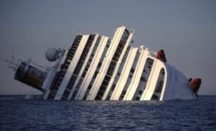 The Costa Concordia ran aground close to Giglio (AFP/Getty Images)