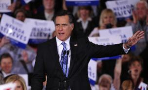 Mitt Romney won easily in Nevada (Getty Images)