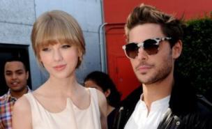 Taylor Swift and Zac Efron looked cosy at the The Lorax premiere (Getty Images)