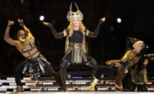 Madonna insists she's not a control freak (AFP/Getty Images)