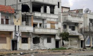 Areas of Syria such as Baba Amr in Homs have been left devastated by shelling (AFP/Getty Images)