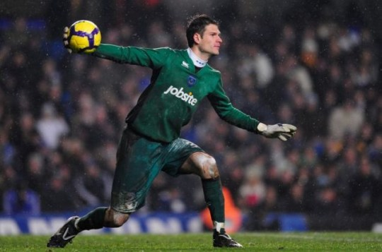 On his way out? Asmir Begovic