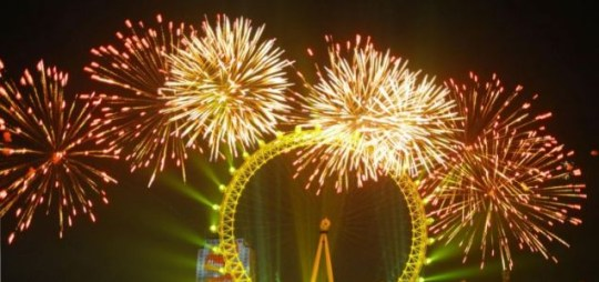 Catch the New Year's fireworks display in London