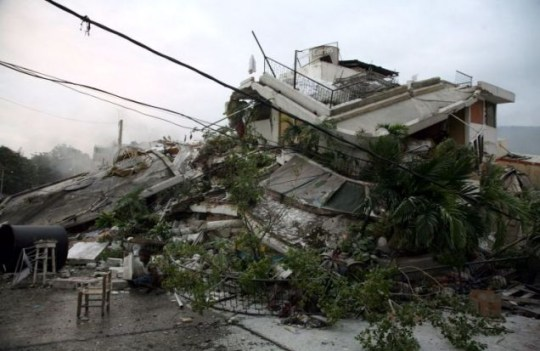The largest earthquake to strike Haiti in more than a century was the equivalent of 35 Hiroshima bombs exploding