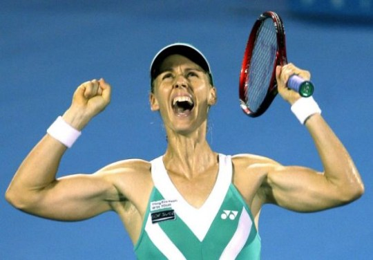 Just champion: Dementieva