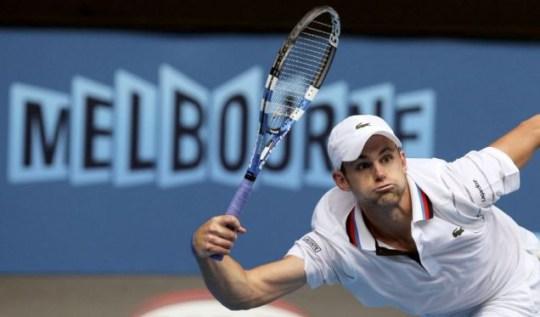 On a roll: Andy Roddick