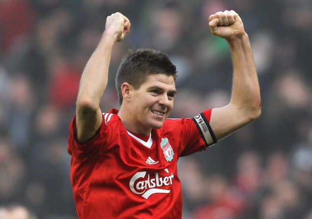 Full of confidence: Steven Gerrard