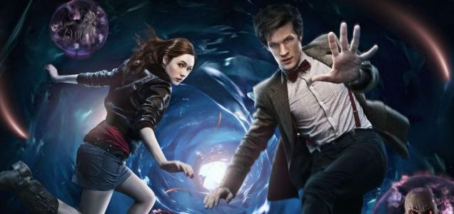 Karen Gillan and Matt Smith star in the new Doctor Who series