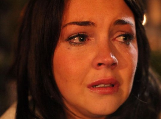 Killer: Stacey Branning in the EastEnders live episode