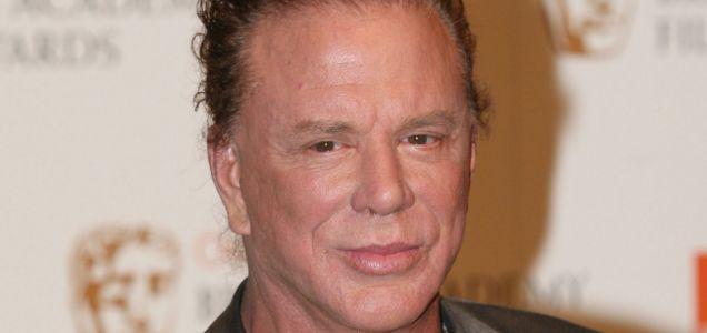 Mickey Rourke set for Conan role