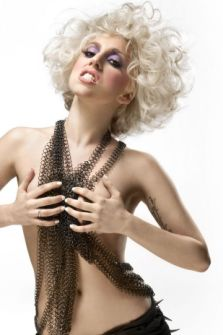 Lady Gaga looking sexual yet staying pure