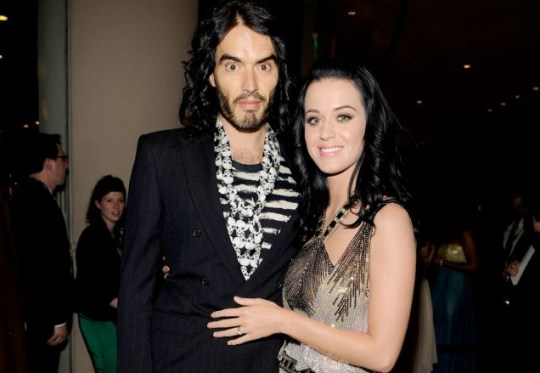 Russell Brand aka Charles Manson in Katy Perry's eyes