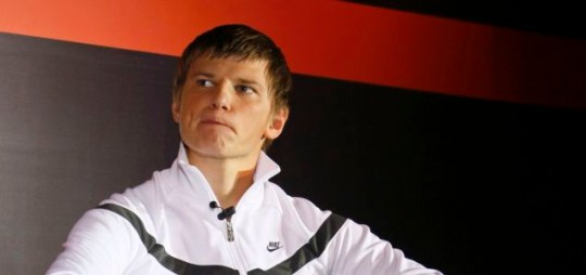 Andrei Arshavin had to answer some pretty weird questions in his webchat