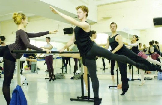 Ballet: Could it help footballers to keep it tights at the back?