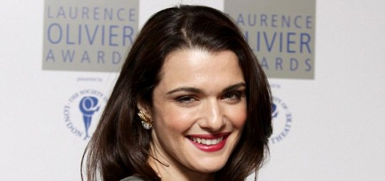 Rachel Weisz at the Laurence Olivier awards after picking up best actress