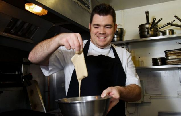Chef Nathan Outlaw gives Andy Lynes a masterclass in making the traditional British fish and chips