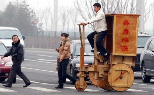 Xu Quan Long wooden cycle