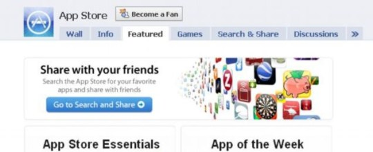 Apple App Store: The Facebook app