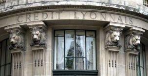 Credit Lyonnais Bank in Paris