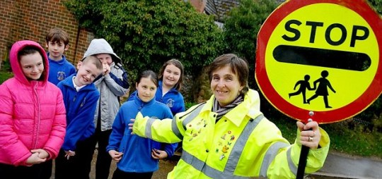 June Ward: Lollipop lady, stand-in dinner lady and caretaker at Sporle Primary School