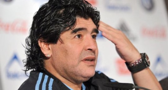 Diego Maradona spent 15 hours at an emergency clinic after being bitten by his pet dog Bela
