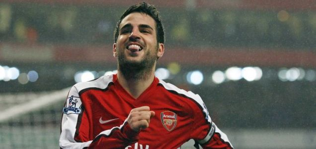 Cesc Fabregas is set to sit out Arsenal's match against Barcelona at the Emirates Stadium