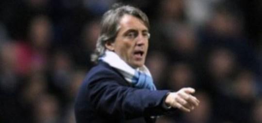 Big spender: Manchester City boss Roberto Mancini