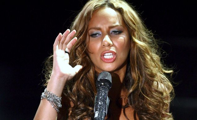 Leona Lewis is selling her new album I Am…. on Grindr