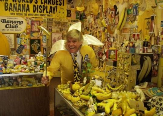 Banana museum Ken Bannister