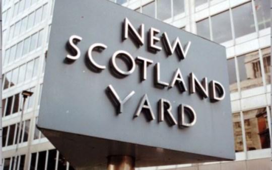 A senior Scotland Yard officer is critical after a crash on the ski slopes