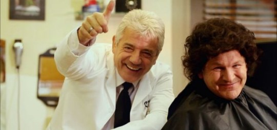 Kevin Keegan and Ray Stubbs are fronting Top Up TV's latest viral campaign