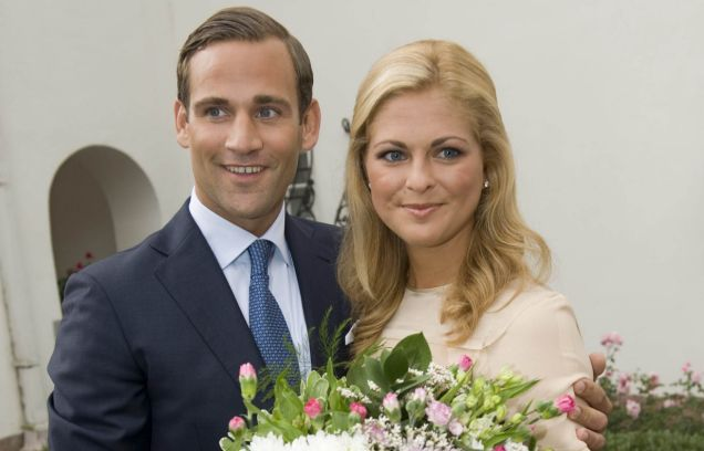 Separate ways: Princess Madeleine has officially split from fiance Jonas Bergstrom after the fling allegations  (Picture: Reuters)