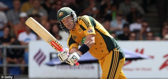 Australia's Cameron White is a specialist at Twenty20 cricket